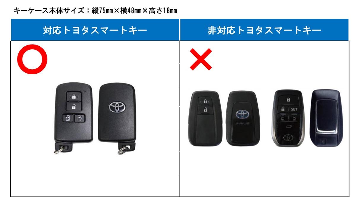 スマート キー ケース トヨタ
