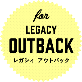 for LEGACY OUTBACK レガシィ アウトバック